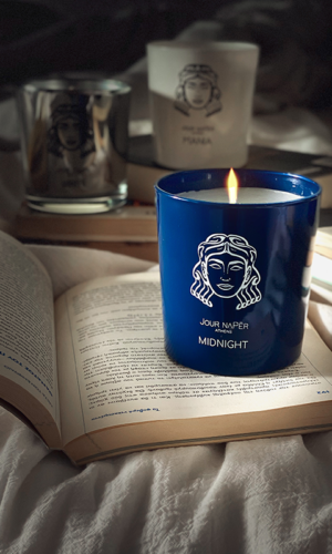 MIDNIGHT Scented candle